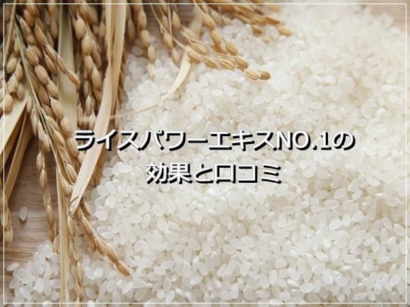 ライスパワーエキスNo.11 口コミ ricepower